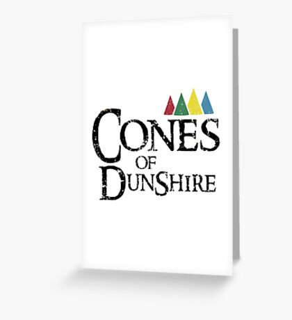 Cones Of Dunshire Greeting Card