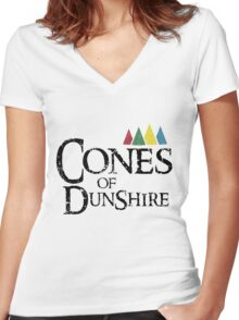 Cones Of Dunshire Women's Fitted V-Neck T-Shirt