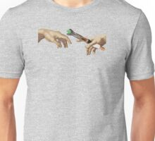The Creation of Who Unisex T-Shirt