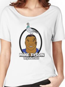 Mike Tyson Mysteries Graphic Women's Relaxed Fit T-Shirt
