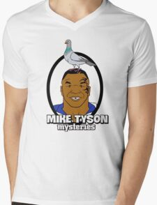 Mike Tyson Mysteries Graphic Mens V-Neck T-Shirt