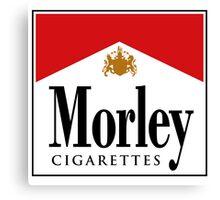 Morley Cigarettes Canvas Print