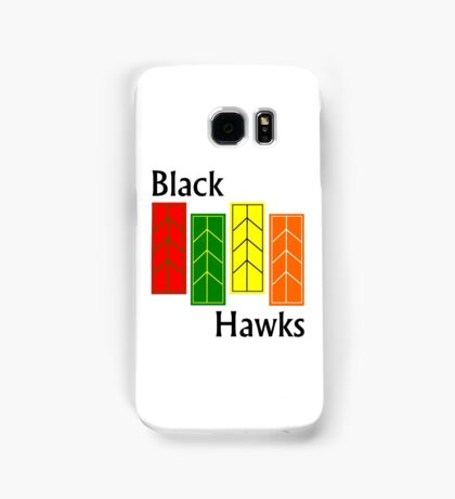 Black Hawks Phone Case Samsung Galaxy Case/Skin
