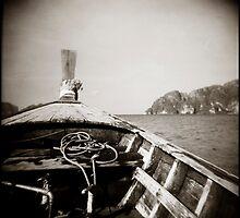 { drift boat } by Lucia Fischer