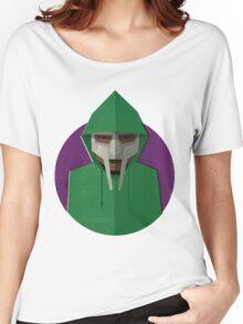 MF Doom, Green Hoodie Women's Relaxed Fit T-Shirt