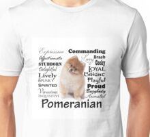 Pomeranian Traits and Personality Unisex T-Shirt