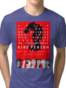 bird person Tri-blend T-Shirt