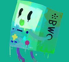 Adventure Time BMO Phone Case by SapphireMB