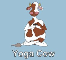 Yoga Cow One Piece - Short Sleeve