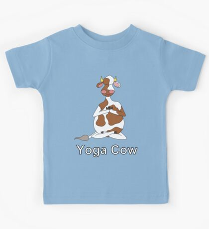 Yoga Cow Kids Tee