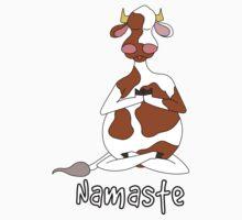 Namaste by uddertees