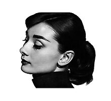 Audrey Profile Photographic Print