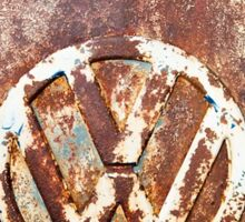 VW Rustic Sticker