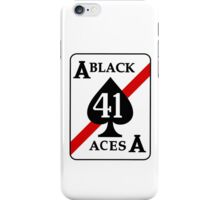 VFA-41 Black Aces Patch iPhone Case/Skin
