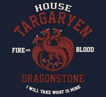 Team Targaryen Kids Clothes