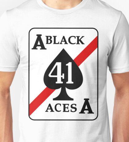 VFA-41 Black Aces Patch Unisex T-Shirt