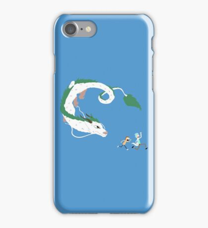 Haku, Rick, and Morty iPhone Case/Skin