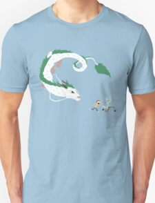 Haku, Rick, and Morty Unisex T-Shirt