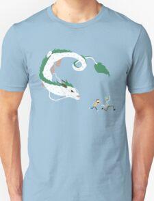 Haku, Rick, and Morty Unisex T-Shirt