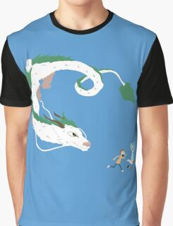 Haku, Rick, and Morty Graphic T-Shirt