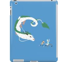 Haku, Rick, and Morty iPad Case/Skin