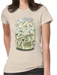 MONEY Womens Fitted T-Shirt