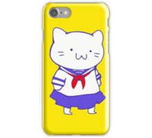 School Girl Kitty iPhone Case/Skin