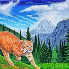 Bobcat in the Rocky Mountains by StephenLTurner