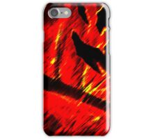 Burning fires iPhone Case/Skin