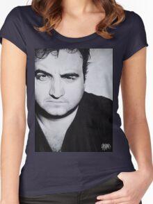 John Belushi Women's Fitted Scoop T-Shirt