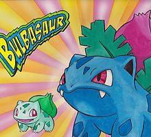 Pokemon Bulbasaur by StephenLTurner