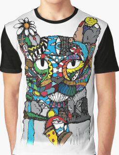 M570-Cat Graphic T-Shirt