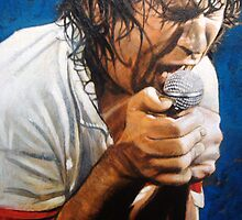 Jimmy Barnes by hollandart
