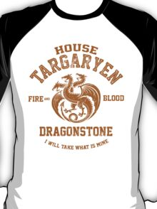 Team Targaryen (Gold) T-Shirt