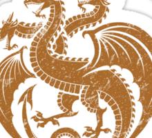 Team Targaryen (Gold) Sticker