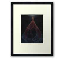 Wont Drown In This Storm Framed Print