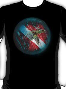 Diver Down Turtle T-Shirt