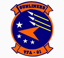 VFA-81 Sunliners Patch Unisex T-Shirt