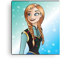 Disney Princesses - Anna Metal Print