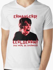 COULSON!!!  Mens V-Neck T-Shirt