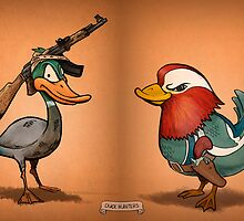 Duck Hunters by artofmiggy