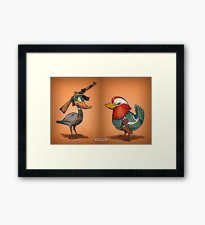Duck Hunters Framed Print