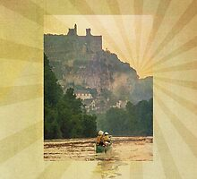 Phone case: Canoe Dordogne by Steven House