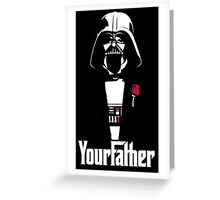star wars your father  Greeting Card