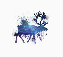 Reindeer Splatter Men's Baseball ¾ T-Shirt