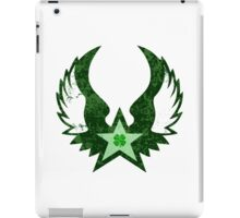 punk clover iPad Case/Skin