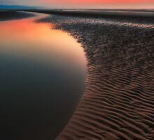 Sunset Seascape by Adrian Evans