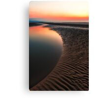Sunset Seascape Canvas Print