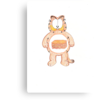 Garfield Care Bear Cousin Canvas Print