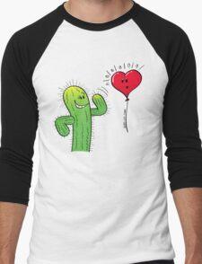 Cactus Flirting with a Heart Balloon T-Shirt